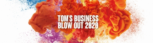 TOM's Business Blow Out 2020 - Online editie 20 november